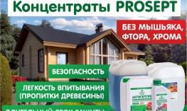 Антисептики PROSEPT. Формула-концентрат — лучшая защита древесины