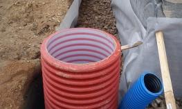 Виды укладки дренажных труб