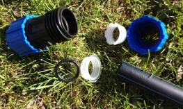 Водопровод из ПНД трубы: трубы, фитинги, монтаж