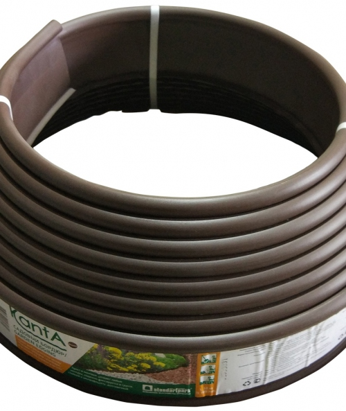 Газонный бордюр Канта коричневый 10м