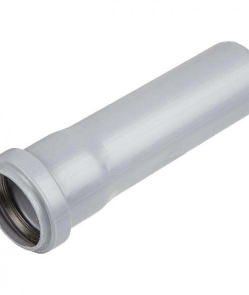 Труба с раструбом ПП d50 х L 2000 мм Серый