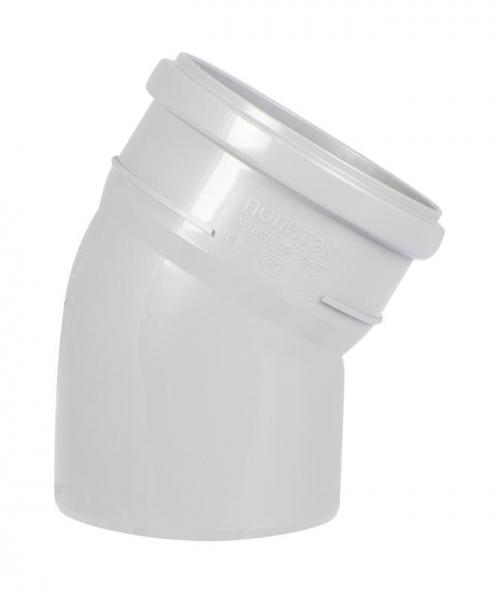 Отвод d 110 мм х 30 градусов внутренняя канализация