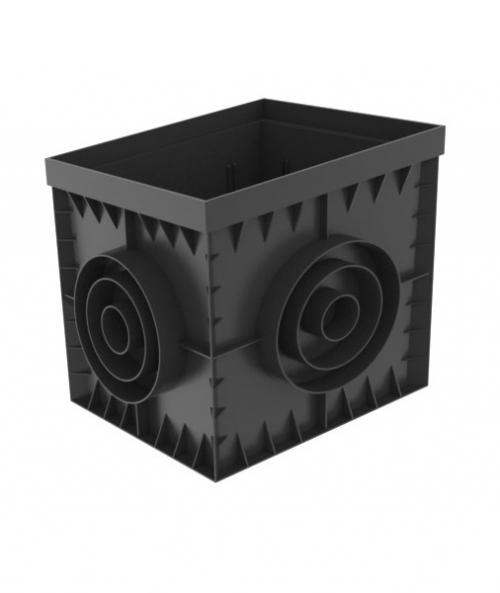 Пластиковый дождеприемник PolyMax Basic 300x300 (ПУСТОЙ)