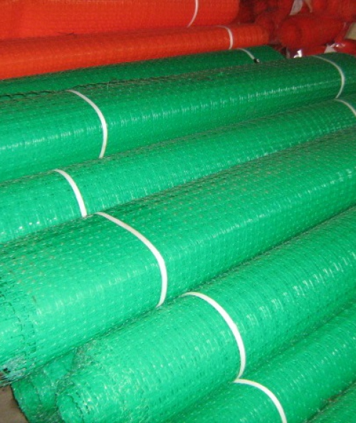 Сетка пластиковая оградительная ОП 2х50м зеленый