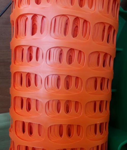 Аварийная оградительная сетка 1м*50м 100 г/м2 оранжевый