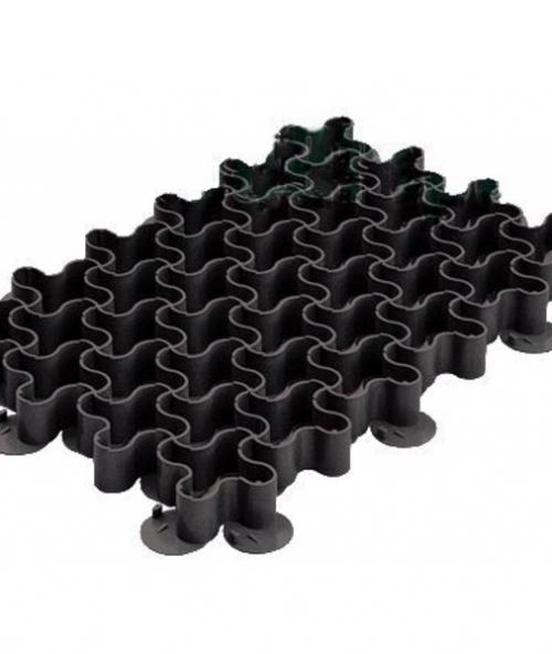 Газонная решетка пластиковая черная