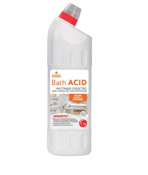 Bath Acid. Средство щадящего действия для удаления ржавчины и минеральных отложений, концентрат 1л