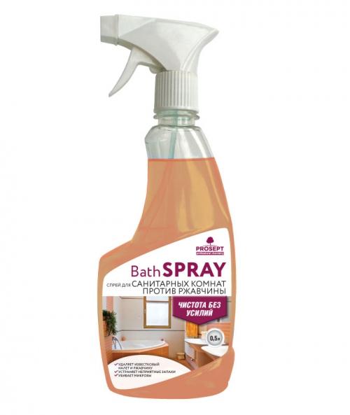 Bath Spray. Универсальный спрей для санитарных комнат, готовый раствор 0.5л