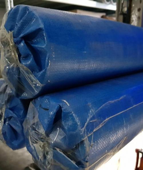 Тент 4х25м 180 г/м2 синие в рулоне