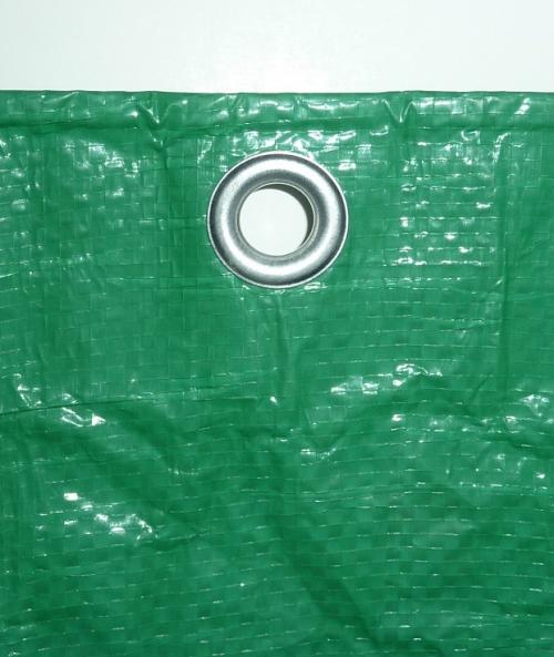 Тент 6х10м 120 г/м2 зеленые