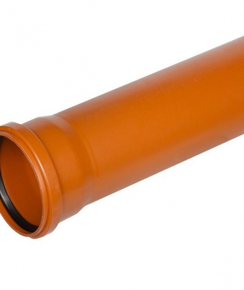 Труба раструбная наружная ПВХ 160х1000 мм