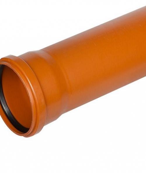 Труба раструбная наружная ПВХ 200х1000 мм