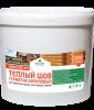 Тёплый шов. Герметик акриловый для деревянных домов, конструкций и изделий цвет сосна 15 кг
